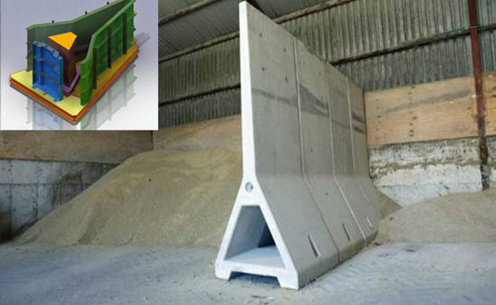 Steel Precast Concrete Moulds