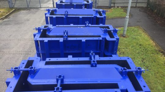 Double Sided L-Wall Steel Mould