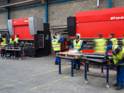 Steel Folding Services Northern Ireland