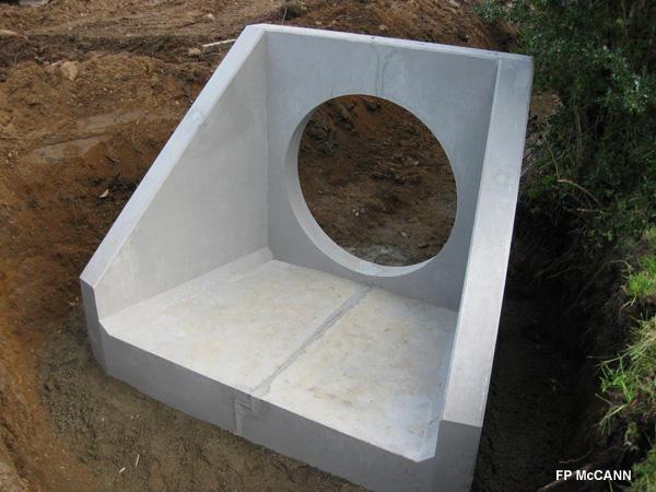 Precast Concrete Headwall Steel Mould