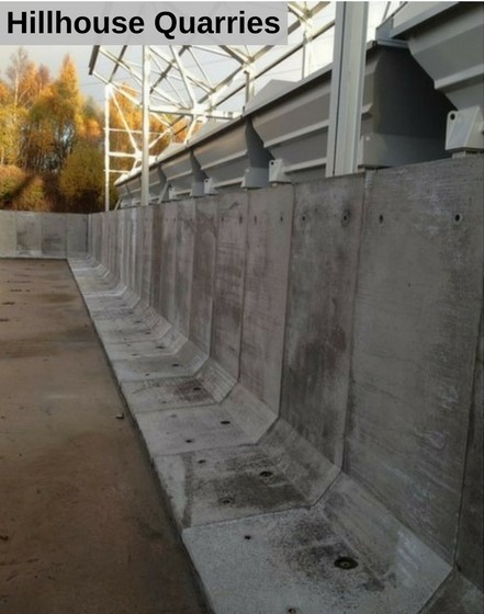 L-Wall Concrete Product