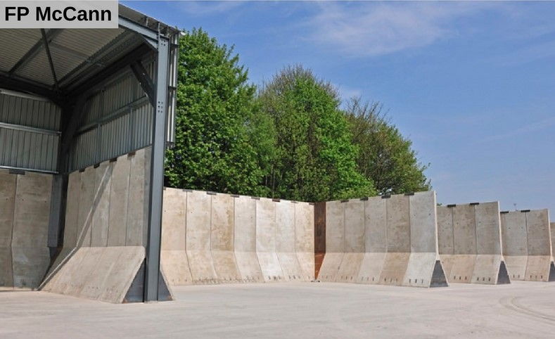 Rocket Wall concrete product manufactured from KME-Steelworks A-Wall Steel Mould