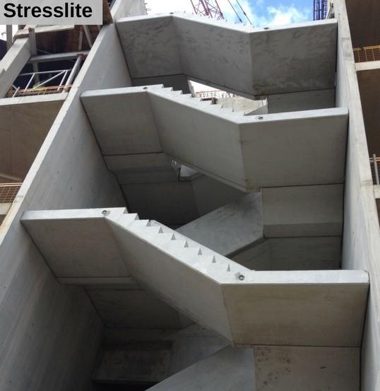 Stair precast concrete steel mould